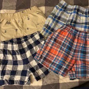 Bundle of 4 12 month boy shorts